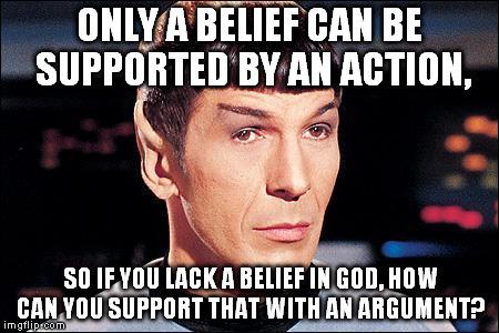 spock lack belief